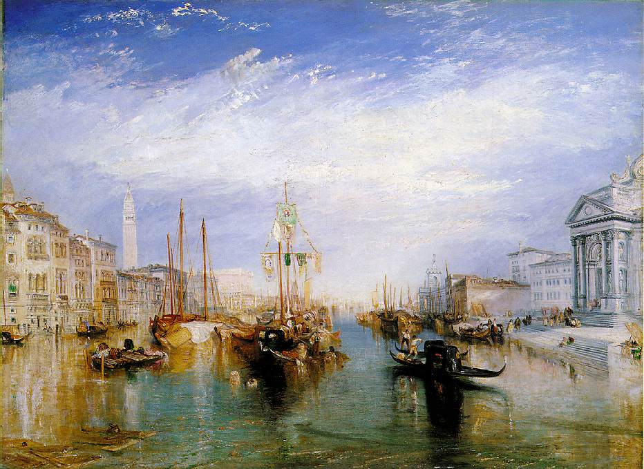 The Grand Canal, Venice by J. M. W. Turner Metropolitan Museum of Art, New York